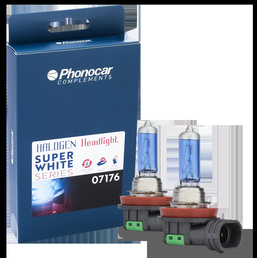 Phonocar SUPERWHITE SERIES Lamps
